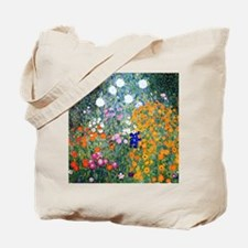 iPad Klimt Flowers Tote Bag