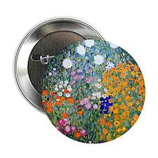"iPad Klimt Flowers 2.25"" Button"