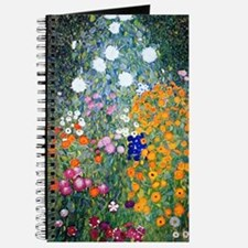 iPad Klimt Flowers Journal