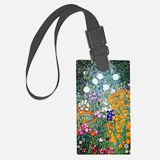 iPad Klimt Flowers Luggage Tag