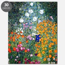 iPad Klimt Flowers Puzzle