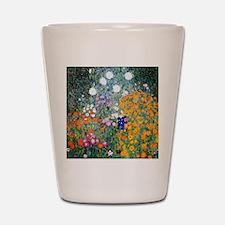 iPad Klimt Flowers Shot Glass