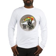 ForksWashingtonbutton Long Sleeve T-Shirt