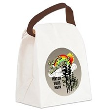 ForksWashingtonbutton Canvas Lunch Bag