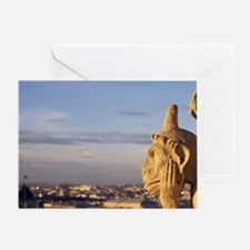 France, Paris. Notre Dame Cathedral  Greeting Card