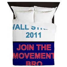 Join-the-movement-bro Queen Duvet