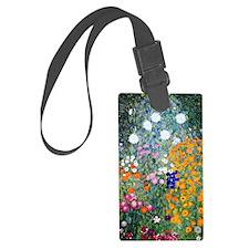 Journal Klimt Flowers Luggage Tag