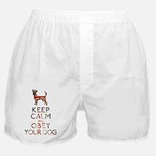 britishmagnet_obey Boxer Shorts