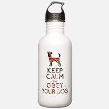 britishmagnet_obey Water Bottle