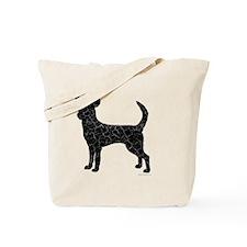 DanteKing_blackdistressed Tote Bag