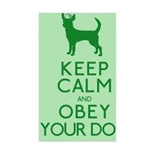 greenmagnet_obey Decal