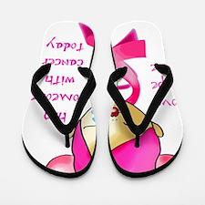cancer_hope_cure Flip Flops