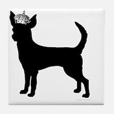 DanteKing_black Tile Coaster