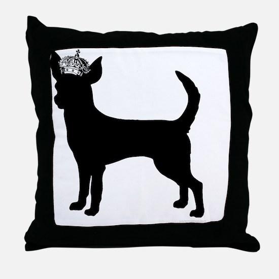 DanteKing_black Throw Pillow