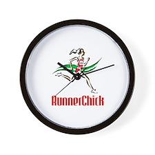RunnerChick Logo Wall Clock