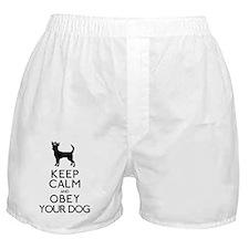 blackandwhite_obey Boxer Shorts