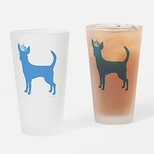 DanteKing_babyblue Drinking Glass
