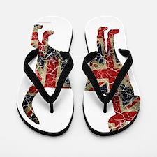 DanteKing_britishdistressed Flip Flops