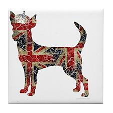 DanteKing_britishdistressed Tile Coaster