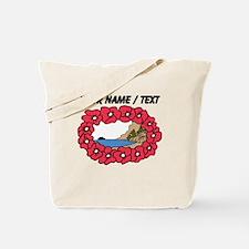 Custom Hawaiian Lei Tote Bag