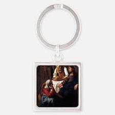 vermeer-martha Square Keychain