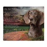 German shorthair pointer Fleece Blankets