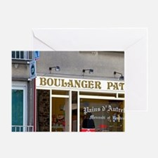 A french bakery at Pont-Farcy in the Greeting Card