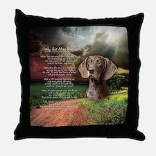 godmadedogs(button) Throw Pillow