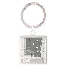 Commodo Dragon Square Keychain
