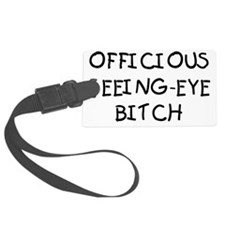 OFFICIOUS Luggage Tag