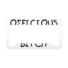 OFFICIOUS License Plate Holder