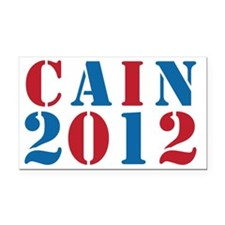 cain2012-01 Rectangle Car Magnet
