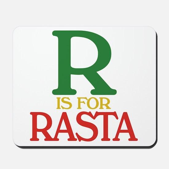 R is for Rasta Mousepad