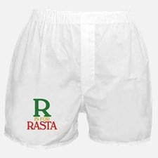 R is for Rasta Boxer Shorts