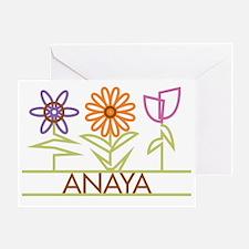 ANAYA-cute-flowers Greeting Card