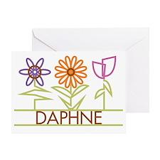 DAPHNE-cute-flowers Greeting Card