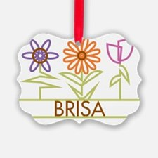 BRISA-cute-flowers Ornament