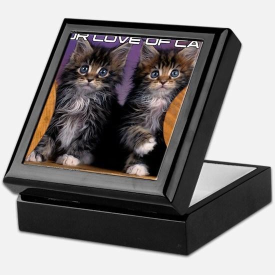 Cover Cat Keepsake Box