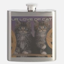 Cover Cat Flask