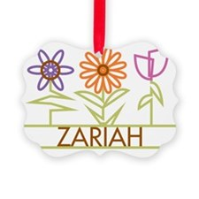 ZARIAH-cute-flowers Ornament