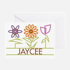 JAYCEE-cute-flowers Greeting Card