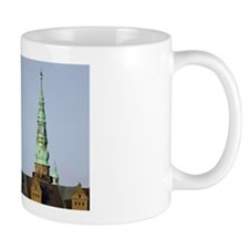 Helsingor. Kronoborg castle at the entr Mug