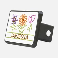 JANESSA-cute-flowers Hitch Cover