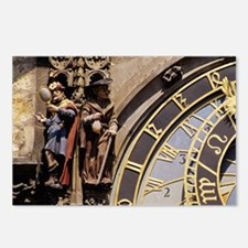 Astronomical Clockague, T Postcards (Package of 8)