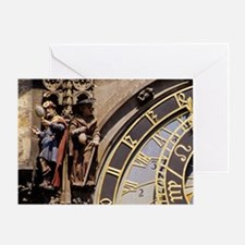 Astronomical Clockague, Town Hall To Greeting Card
