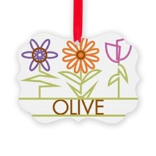 OLIVE-cute-flowers Ornament