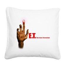 et_the_Extra Square Canvas Pillow