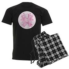 PinkRibLoveSwirlRpTR Pajamas
