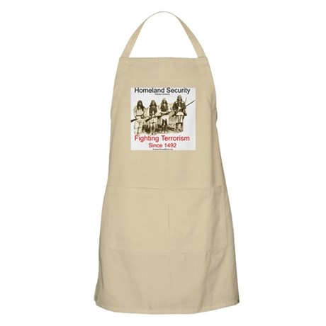 Fighting Terrorism Since 1492 - Apache BBQ Apron