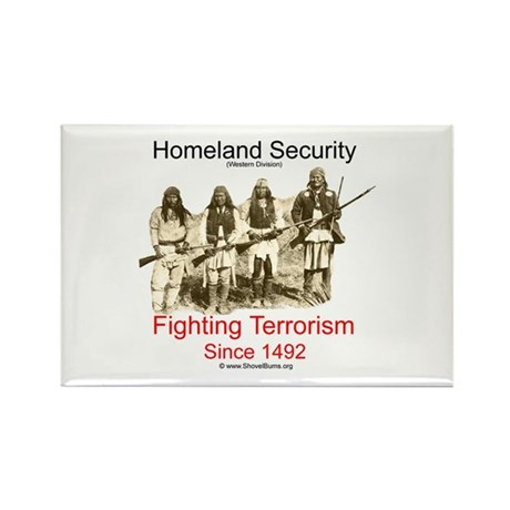 Fighting Terrorism Since 1492 - Apache Rectangle M